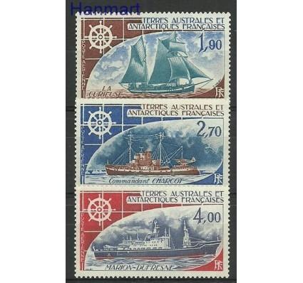 Znaczek Francuskie Terytoria Południowe i Antarktyczne 1976 Mi 98-100 Z podlepką *