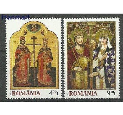Znaczek Rumunia 2013 Mi 6707-6708 Czyste **