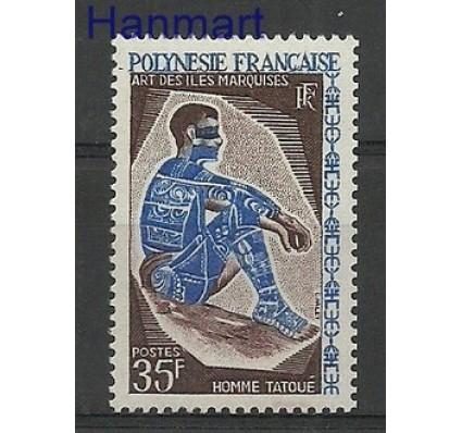 Znaczek Polinezja Francuska 1968 Mi 79 Z podlepką *