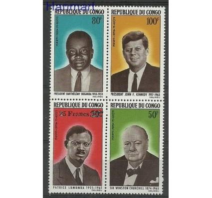 Znaczek Kongo 1965 Mi 71-74 Czyste **