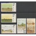 Afryka Południowo-Zachodnia 1973 Mi 368-372 Czyste **