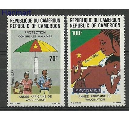 Znaczek Kamerun 1986 Mi 1141-1142 Czyste **