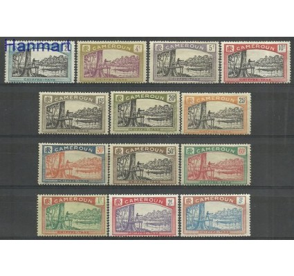 Znaczek Kamerun 1925 Mi 1-13 Z podlepką *