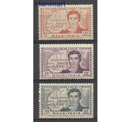 Znaczek Francuska Afryka Zachodnia 1939 Mi 100-102 Czyste **