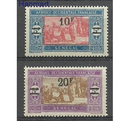 Znaczek Francuska Afryka Zachodnia 1927 Mi 100-101 Z podlepką *