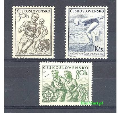 Czechosłowacja 1954 Mi 856-858 Czyste **