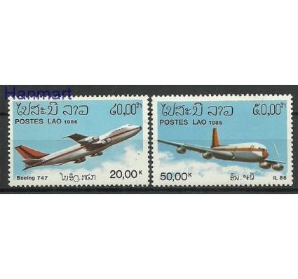 Znaczek Laos 1986 Mi 920-921 Czyste **