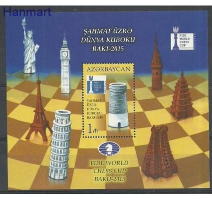 Znaczek Azerbejdżan 2015 Mi bl 160 Czyste **