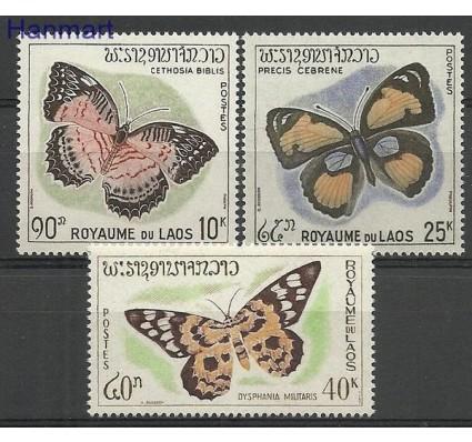Znaczek Laos 1965 Mi 151-153 Czyste **