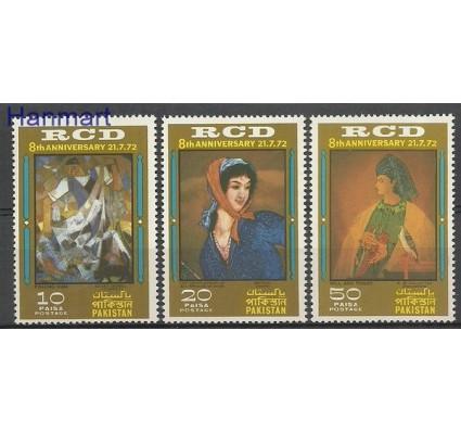 Znaczek Pakistan 1972 Mi 325-327 Czyste **