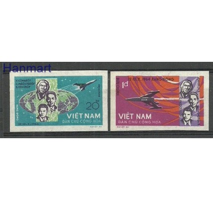 Znaczek Wietnam 1965 Mi 359-360B Czyste **
