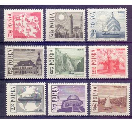 Polska 1966 Mi 1705-1713 Fi 1557-1565 Czyste **