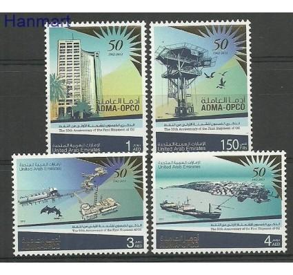 Znaczek Zjednoczone Emiraty Arabskie 2012 Mi 1080-1083 Czyste **