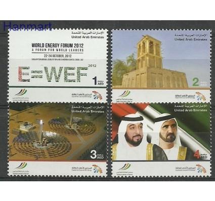 Znaczek Zjednoczone Emiraty Arabskie 2012 Mi 1087-1090 Czyste **