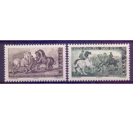 Znaczek Polska 1966 Mi 1715-1716 Fi 1567-1568 Czyste **