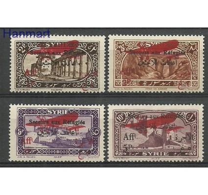 Znaczek Syria 1926 Mi 296-299 Z podlepką *