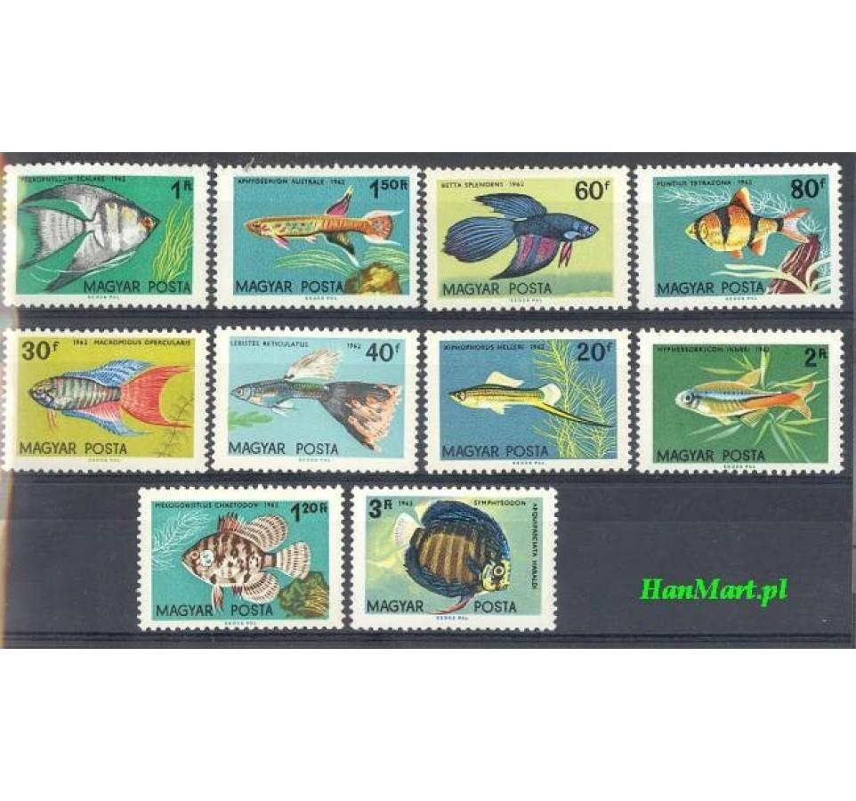 Węgry 1962 Mi 1820-1829 Czyste **