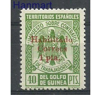 Znaczek Gwinea Hiszpańska 1941 Mi 226 Czyste **