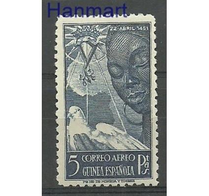 Znaczek Gwinea Hiszpańska 1951 Mi 270 Z podlepką *