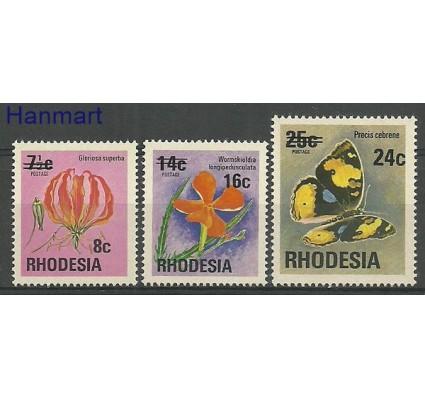 Znaczek Rodezja 1976 Mi 172-174 Czyste **