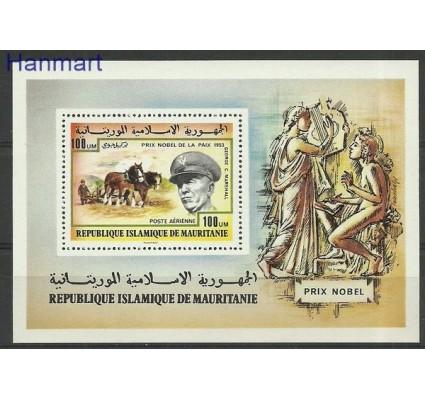 Znaczek Mauretania 1977 Mi bl 17 Czyste **