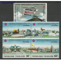 Togo 1970 Mi 802-806 Czyste **