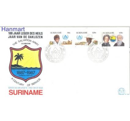 Znaczek Surinam 1987 FDC