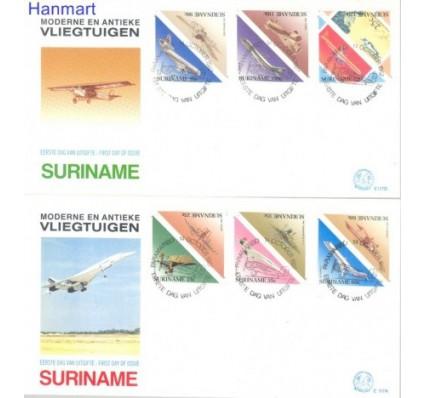 Znaczek Surinam 1987 Mi 1223-1234 FDC