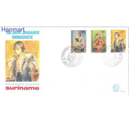 Znaczek Surinam 1990 Mi 1332-1334 FDC