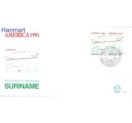 Znaczek Surinam 1991 Mi 1377-1378 FDC