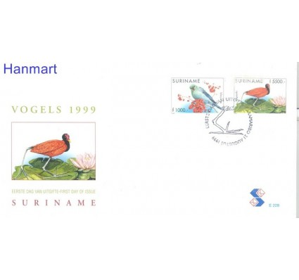 Znaczek Surinam 1999 Mi 1705-1706 FDC