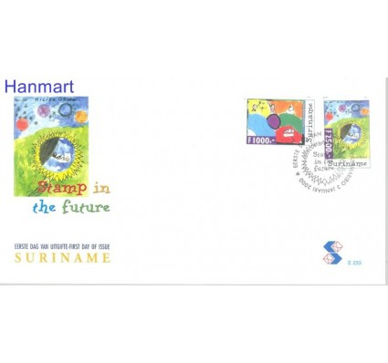 Znaczek Surinam 2000 Mi 1719-1720 FDC