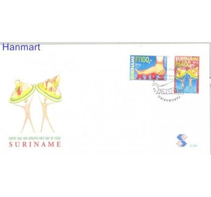 Znaczek Surinam 2000 Mi 1747-1748 FDC