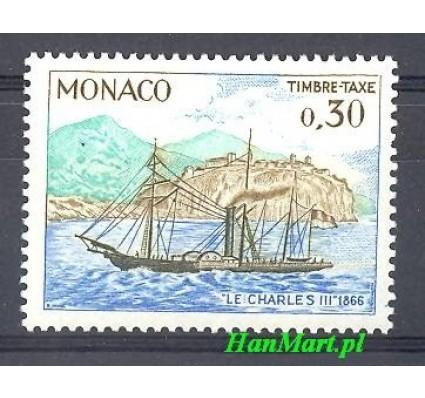 Znaczek Monako 1969 Mi por 66 Czyste **
