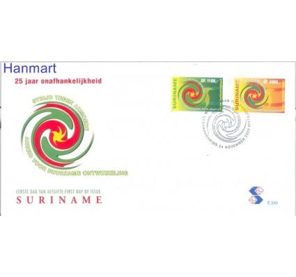 Znaczek Surinam 2000 Mi 1755-1756 FDC