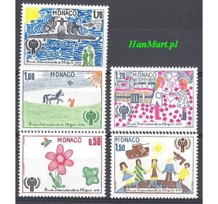 Znaczek Monako 1979 Mi 1370-1374 Czyste **