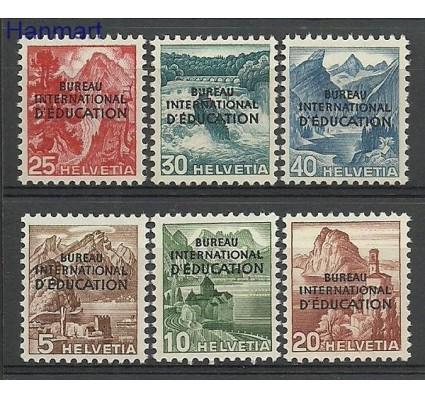 Znaczek Szwajcaria 1948 Mi ibe 23-28 Czyste **