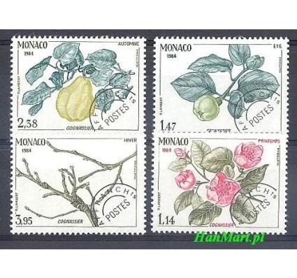 Znaczek Monako 1984 Mi 1642-1645 Czyste **