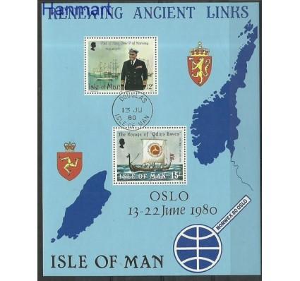 Znaczek Wyspa Man 1980 Mi bl 4 Stemplowane