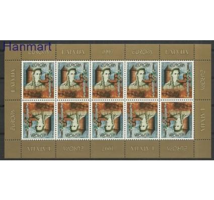 Znaczek Łotwa 1997 Mi ark 453 Czyste **