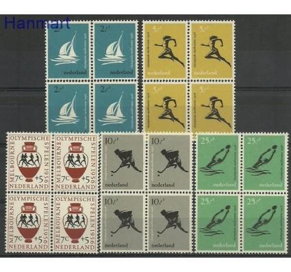 Znaczek Holandia 1956 Mi 678-682 Czyste **