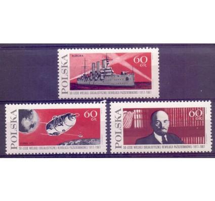 Znaczek Polska 1967 Mi 1793-1795 Fi 1644-1646 Czyste **