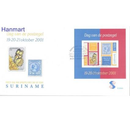 Znaczek Surinam 2001 Mi bl 85 FDC