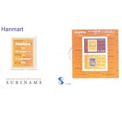 Znaczek Surinam 2002 Mi bl 87 FDC