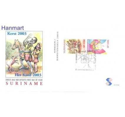 Znaczek Surinam 2003 Mi bl 92 FDC