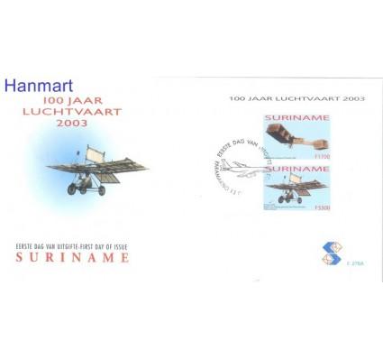 Znaczek Surinam 2003 Mi bl 93 FDC