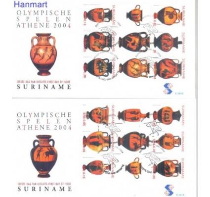 Znaczek Surinam 2004 Mi 1934-1935 FDC