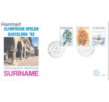Znaczek Surinam 1992 Mi 1410-1412 FDC