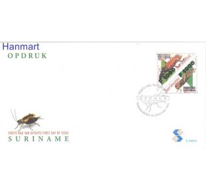 Znaczek Surinam 2001 Mi 1762-1763 FDC