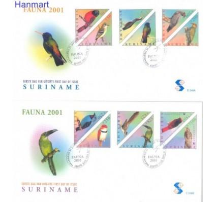 Znaczek Surinam 2001 Mi 1764-1775 FDC